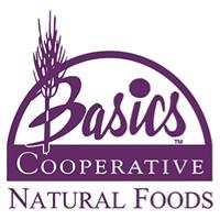 Basics Cooperative Natural Foods  logo.